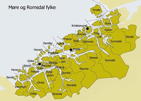 Lokalsamfunna i Møre og Romsdal