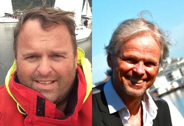 Bjørn Helset og John John Bruseth